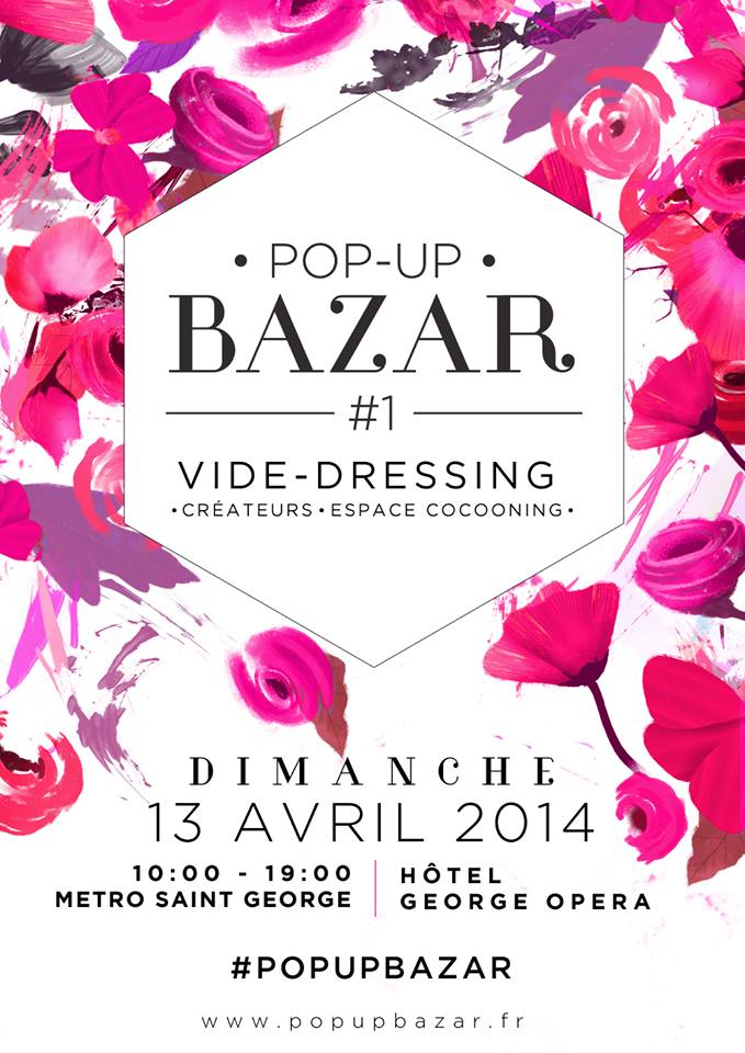 Vide dressing & Pop Up Bazar à Paris