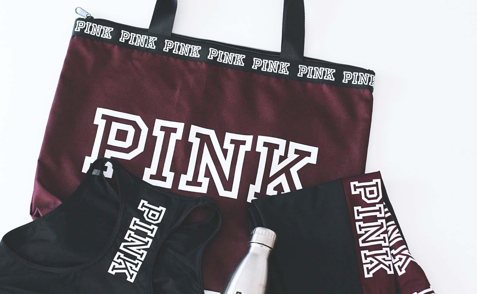 pink victoria secret affaires sport
