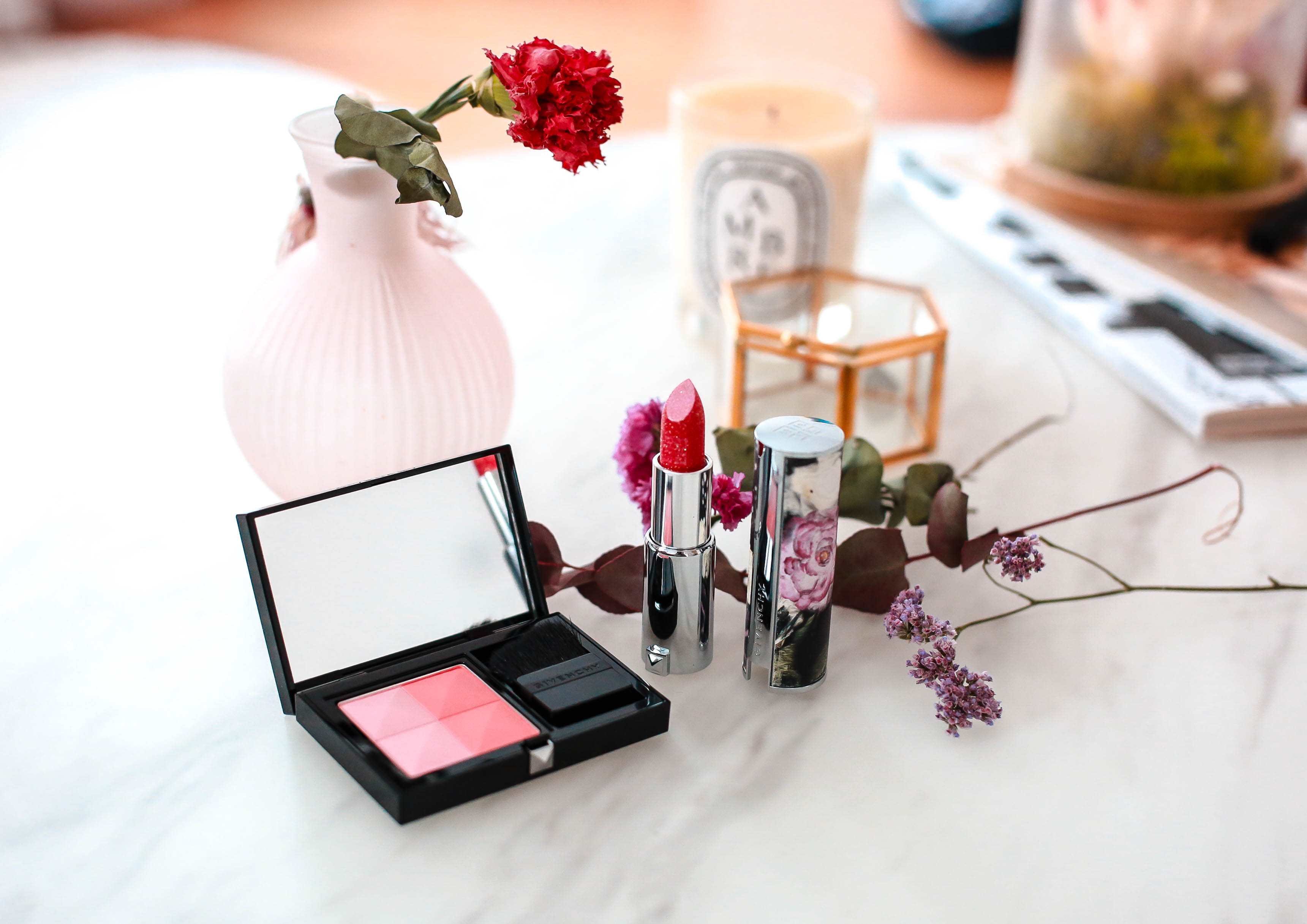 Prisme Blush & Rouge Edition Limitée Givenchy Gardens Collection 2020