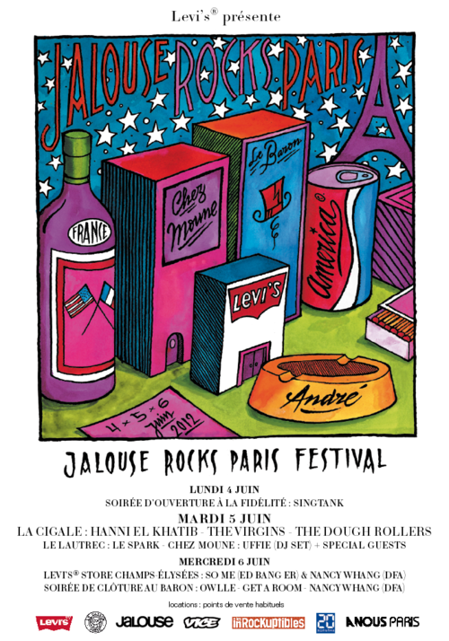 Festival Jalouse Rocks Paris
