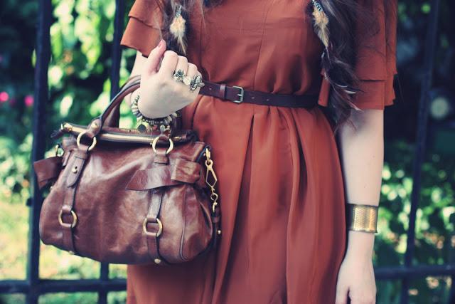 Robe vintage - blog mode