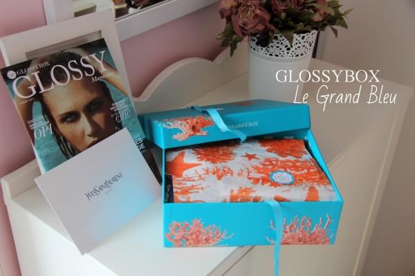 Le Grand Bleu Glossybox - Blog Beauté