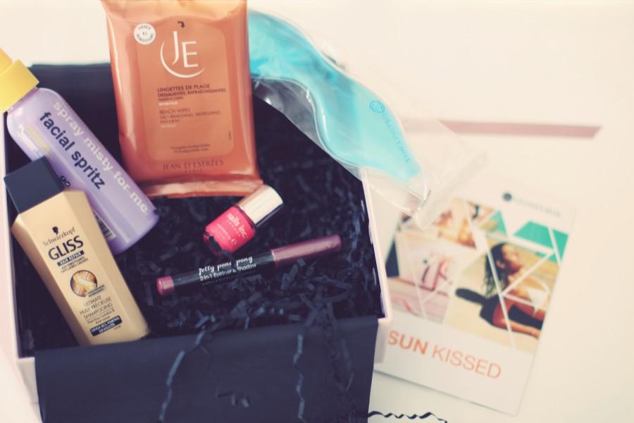 Sun Kissed Box Glossybox - Blog Beauté