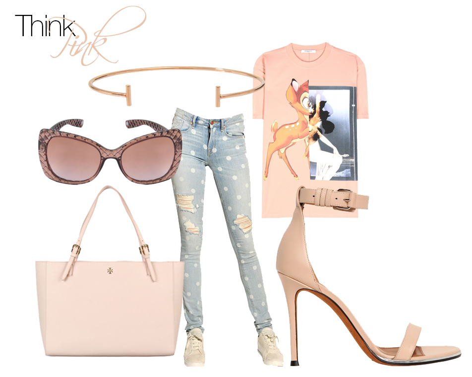 think pink look