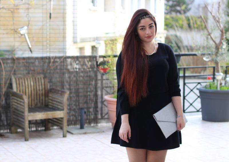 petite robe noire Comptoir des Cotonniers