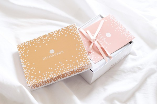 let it snow ! let's celebrate ! glossybox