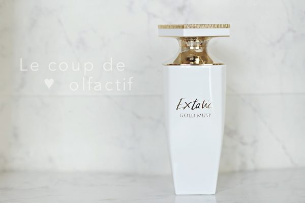 Extatic Gold Musk Balmain - Le Coup de Coeur Olfactif #1