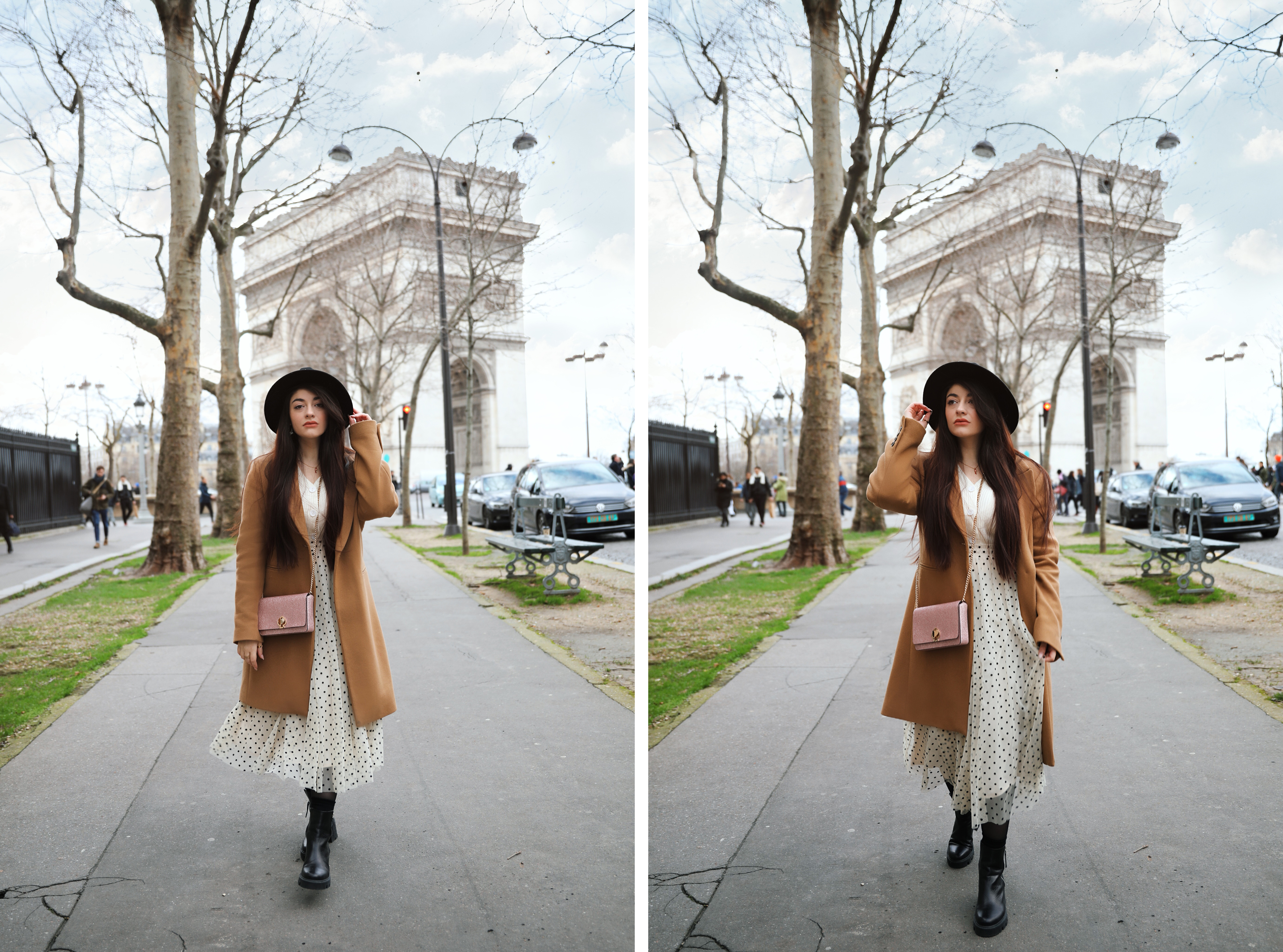 blog mode jupe à pois